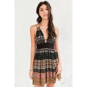 Urban Outfitters Boho Halter Neck Dress